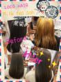 【草加】黒染めヘアを大変身