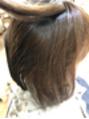 髪質改善ストレートでツヤツヤ★