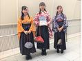 卒業式袴レンタル付き着付けとヘアセットがお得