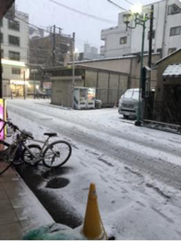 【SAKI°*.】雪だぁぁぁあ!!!!【BOB関内】_20180123_1