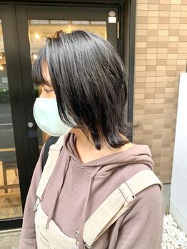 ウルフなレイヤーボブ♪【山崎慎悟】_20201018_1