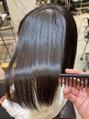 髪質改善で艶髪