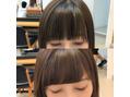 ☆顔周りの雰囲気で好印象な小顔ヘア☆大河光太朗