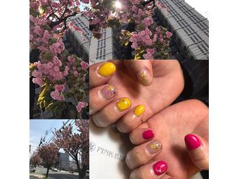 ラストの桜_20180413_1