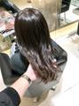 【No.319】わりとクセが無いのにパサつきやすい髪質。