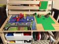 LEGO用 プレイデスク 造りました!