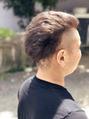 ふんわり刈り上げヘア