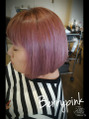 haircolor ベリーピンク
