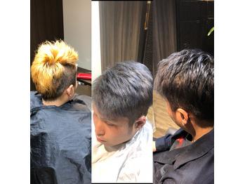 メンズ☆ブルーアッシュ_20180214_1