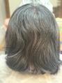 《髪質改善×縮毛矯正》乾かすだけで理想スタイル♪