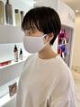 ガレリアエレガンテ 植田店(GALLARIA Elegante)[平野]直毛さんにおすすめのコンパクトショート◎
