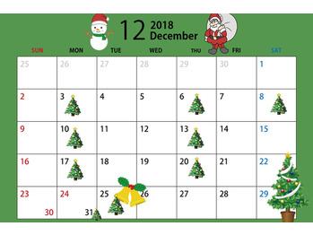 12月のご予約開始しました☆DAISUKE_20181102_1