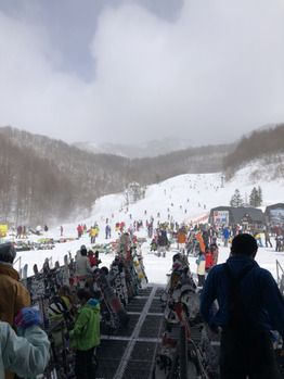 20年ぶりに雪山へ・・・_20200212_1