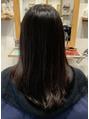 スリーランド(THREELAND)【城東区】黒髪からのカラー【蒲生四丁目】