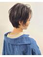 ソース ヘア アトリエ(Source hair atelier)ショート×グレージュ