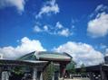 いい天気の金沢駅