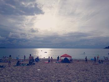 水晶浜へ♪_20170901_1