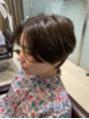 レディースショートヘア大人気です!