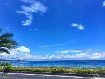沖縄に来て初の国頭村の方にサーフィン行きました!!_20160613_4