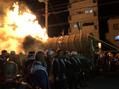 中書島 火祭り