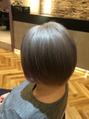 オーブ ヘアー マックイーン 流山店(AUBE HAIR McQueen)silver color