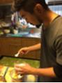 初めてのお菓子作り。