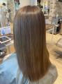 アフロート ディル(AFLOAT D'L)【髪質改善】縮毛矯正で柔らかく扱いやすい髪へ
