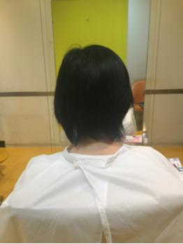 ショートから美しい黒髪ロングへ☆_20170401_1