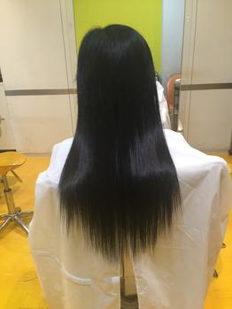 ショートから美しい黒髪ロングへ☆_20170401_2