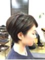 春のショートヘアー