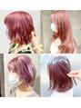 パーソナルカラー別ピンク