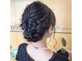 hair arrange*