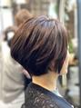 ミンクス 銀座店(MINX)お客さまのヘアスタイル「ショートグラボブ」