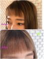 前髪や顔周りのポイント縮毛矯正できますよ