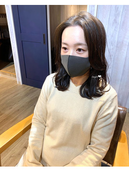 韓国風レイヤー+クリームバスヘッドスパ♪山崎慎悟_20201107_1