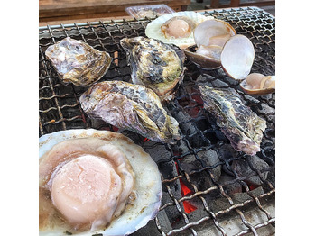 牡蠣小屋とアンティークcafe_20181204_1