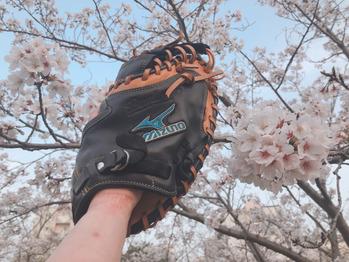 桜と野球_20210329_1