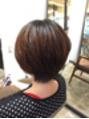 女っぽショートヘア☆
