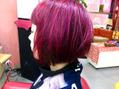 ストロベリーピンク色