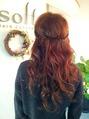 ヘアアレンジで髪飾りみたいにかわいく☆