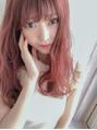 【小顔ブログ】透けるようなピンクカラー