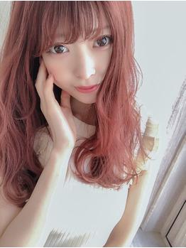【小顔ブログ】透けるようなピンクカラー_20190920_1