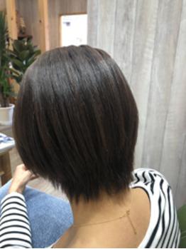 ショートも髪質改善トリートメントでツヤツヤに^_^_20200213_1