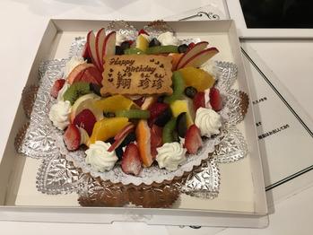 大好きな先輩の誕生日お祝いしました☆_20180801_1
