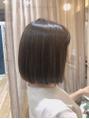 ☆短く☆カット+イルミナカラー9980