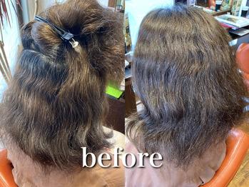 ブリーチ歴6回の髪に縮毛矯正できますか?_20201002_1