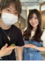 パリス(PARIS)女優の都志見久美子さんご来店
