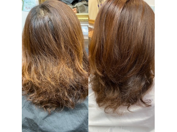 明るい髪の毛はダメージが大きい、それは違うことも_20210116_1
