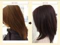 髪のカラーが黄色やオレンジになりやすい方