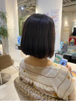 ヘアドネーション後は毛髪整形で楽ちんに!_20210717_2
